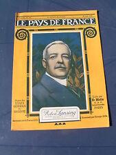 Pays de France 1918 193 BELLOY NOYON VANDELICOURT REIMS