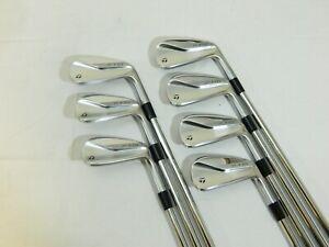 2020 Taylormade P770 iron set 4-PW Project X 6.0 Stiff irons P-770 - Used RH