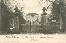 Oude Postkaart met zicht op het kasteel van WESPELAER, omgeving Leuven (PK2483)
