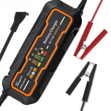 6V/12V 3A Smart Car Battery Charger and maintainer&Desulfator Waterproof 3000mA