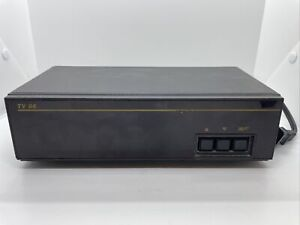 UL CATV CONVERTER BOX TV86B LISTED 23G2 OUTPUT CH. 3 105-125V AC 60HZ 12W MEXICO