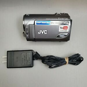 JVC Everio Memory Camcorder HD One Touch GZ-MS100U TESTED BATTERY & CHARGER