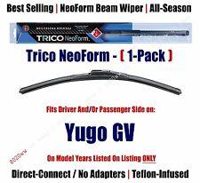 (Qty 1) Super Premium NeoForm Wiper Blade fits 1986-1989 Yugo GV 16160