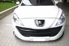 Rexpeed in Fibra di Carbonio Anteriore Splitter per Peugeot RCZ (fase I) (RCZ1)