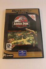 Jurassic Park Operation Genesis Windows PC game FRENCH FRANCAIS mint disc 2004