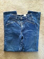 24 X 30 ROCKIES HIGH WAIST JEANS ROCKY MOUNTAIN MEDIUM BLUE  WOMANS SIZE 26/3