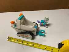 Lot Of 2: Paw Patrol girl pup Everest Figure And Snowmobile Rescue Vehicle