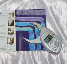Plicometro misura massa grassa con memoria digitale fitness sport con manuale