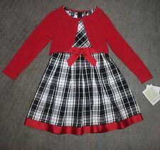 Bonnie Jean Girls 2 Piece Set (Dress & Shrug)- Size 6X - NWT