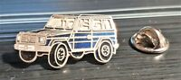 MERCEDES BENZ épinglette CLASSE G modèle G bleu émaillé 30x16mm