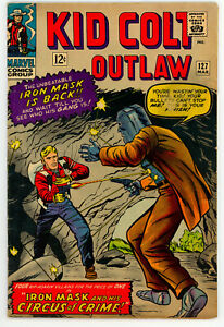 JERRY WEIST ESTATE: KID COLT OUTLAW #127 (Marvel 1966) VG condition NO RES
