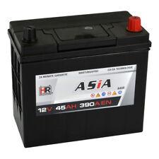 Autobatterie 12V 45Ah 390A/EN A45R PKW ASIA Japan Pluspol Rechts Starterbatterie