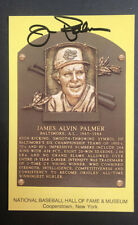 Baseball Hall of Fame Authentic signed Postcard of Jim Palmer