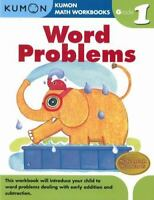 Word Problems Grade 1 (kumon Math Workbooks): By Kumon Publishing