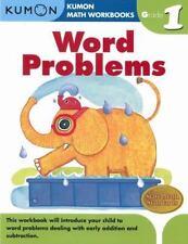 Word Problems Grade 1 [Kumon Math Workbooks]