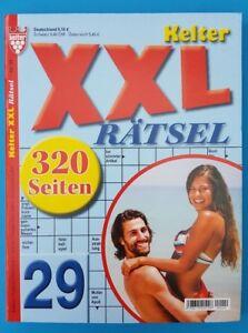 Kelter XXL Rätsel Nr.29   320 Seiten !!!  Neu+unbenutzt 1A abs. TOP