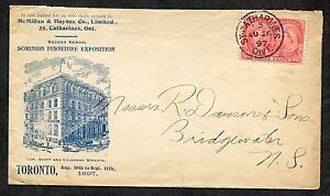 *p189-ST CATHARINES 1897 Toronto Furniture Exposition ADVERTISING Cover. Jubilee