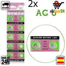 2x AG6 PILAS pila de botón baterías 371A boton bateria AG 6 SR69 LR920SW V371 *E