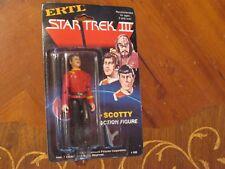 1984 Vintage Star Trek Scotty Action Figure Ertle