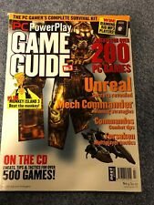 Vintage PC POWERPLAY Magazine with a CD - Game Guide, Issue #3