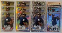 Luis Severino Bowman Chrome Rookie Card Lot 28 Cards New York Yankees