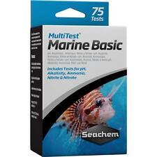 SEACHEM - MULTITEST MARINE BASIC TEST KIT - WATER TESTING