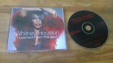 CD Pop Whitney Houston - I Learned From (2 Song) Promo BMG ARISTA sc