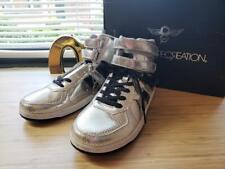 NWB Creative Recreation men's Sneakers Silver  9.5L