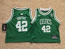 NEW Adidas Boston Celtics AL HORFORD kids toddler jersey 3T Thomas