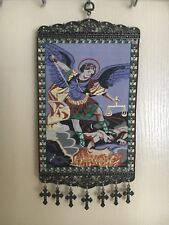 Woven Religious tapestry wall hanging orthodox catholic icon Style 1021