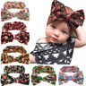 Baby Toddler Big Bow Flower Headband Kid Girls Turban Headwear Hair Accessories