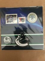 2014 25-CENT NHL COIN AND STAMP GIFT SET VANCOUVER CANUCKS