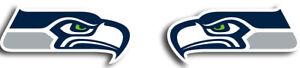 Seattle Seahawks Logo Mirrored Vinyl Decals / Stickers (Set of 2) 🏈
