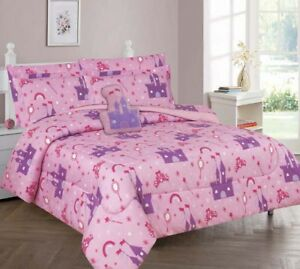 6/8P EXTRA SOFT KIDS AND TEENS COMFORTER BEDDING SHEET BED SET BOYS GIRLS STYLE