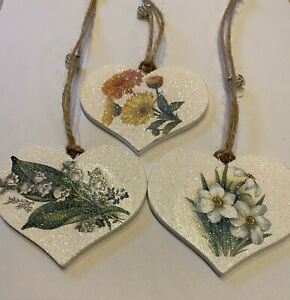 Birthday Month Of Birth Floral Hanging Decoration Vintage Decals