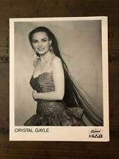 Crystal Gayle B&W 8x10 Photo Country Music