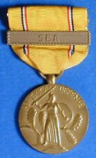 UNITED STATES AMERICAN DEFENSE SERVICE MEDAL WITH SEA BAR                  R8056