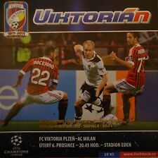 Programma UEFA CL 1999/00 Viktoria Plzen-AC MILAN