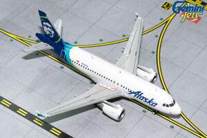Gemini Jets 1:400 Alaska Airlines Airbus A319 GJASA1851 REG#N530VA
