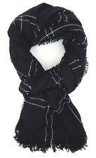 Women's Scarf Black White Von Ella Jonte Scarf Autumn Winter Warming New Season