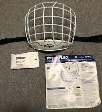NOS Vintage Cooper VL50 Goalie Hockey Cage Screws J Post For Sk600 Sk2000 Helmet