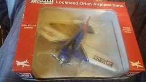 1932 Sentry Hardware Lockheed Orion Vintage  Airplane Bank die cast. new in box