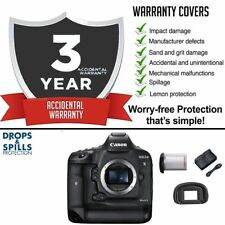 Canon 1DX mark II 1 DX mk II 20.2 MP DSLR Camera Body w/ 3yr Accidental Warranty