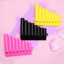 Musical Plastic Woodwind Pan Flute Toy 1pc Learning Mini Children Instruments 6T