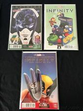 INFINITY 3 ISSUE VARIANT LOT HIGH GRADE LEGO SKOTTIE YOUNG 2ND PRINT