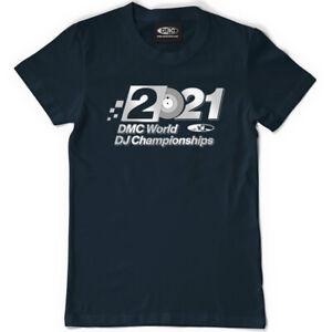 NEW - DMC World DJ Championships T-shirt 2021 (s-xxl)  Technics Pioneer Numark