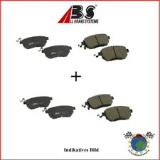 Kit Bremsbeläge vorne + hinten ABS NISSAN NV400 OPEL MOVANO B RENAULT MASTER #lj