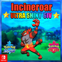 "Incineroar Competitivo Pokémon Espada y Escudo 6 IVs ""Utra Shiny or not"""