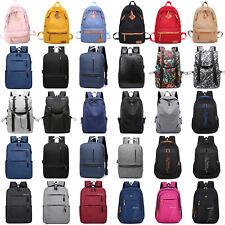 Men Women Backpack Rucksack School College Book Bag Travel Laptop Shoulder Bag