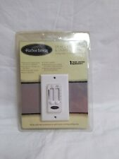 Harbor Breeze Dual Ceiling Fan & Light Wall Control #130622, New (A12)